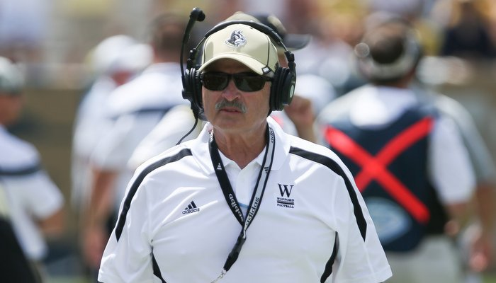 Mike Ayers hopes the Terriers can leave Clemson healthy (Photo by Kevin Liles, USA Today)