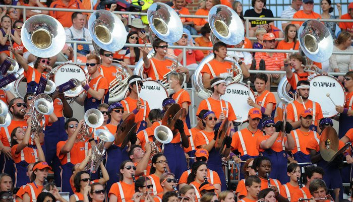 College bands - one of the things that sets college football apart from the NFL