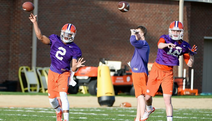 Most of the attention will be on the freshman quarterbacks during Saturday's spring game