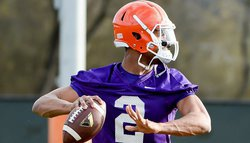 Tigers Hold First Two-A-Day Practice on Monday