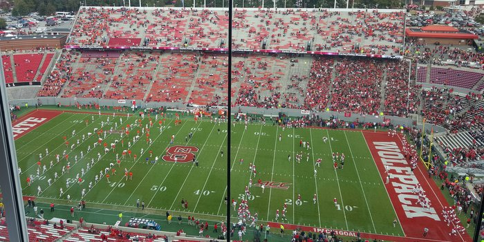 Live from Carter_Finley Stadium in Raleigh