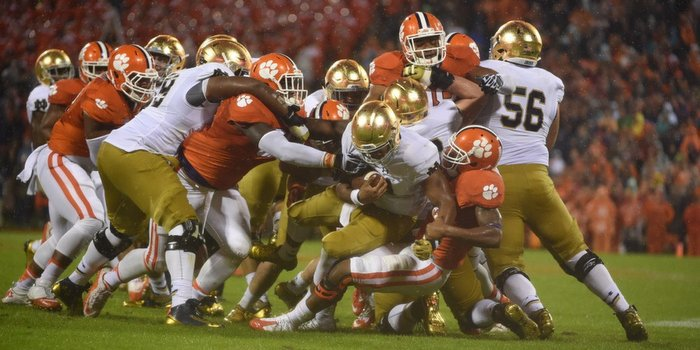 Clemson's defense made plays when it had to