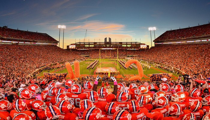 Clemson is a program that has had its share of big moments in recent seasons (Photo by Mark McInnis)