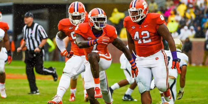 Kearse has been a big play machine for Brent Venables' defense