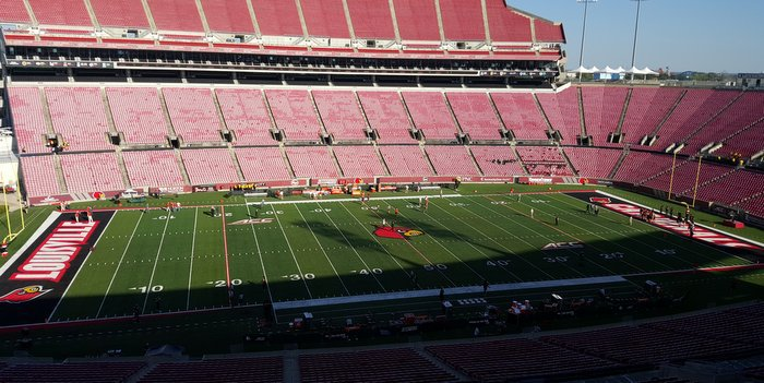 Papa Johns Stadium is the site for tonight's game