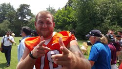 Clemson's Eric Mac Lain steals the show at ACC Kickoff