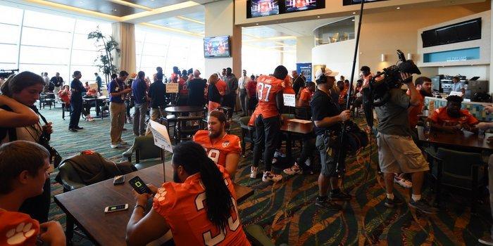 Orange Bowl Media Day: Dancing, fake punts and Venables gets tackled by Shaq