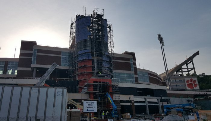 The changes to the WestZone and the new Oculus are evident