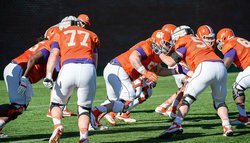 Clemson holds last practice before Spring Game