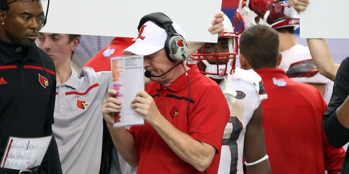 Bobby Petrino has been complimentary of Clemson this week
