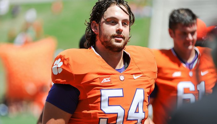 Swinney likes what he has seen out of Zach Riggs in camp