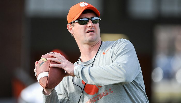 Jeff Scott says the coaching staff has pared down the offensive playbook