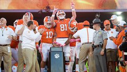 "Clemson tight end to have ""bittersweet"" day Saturday"