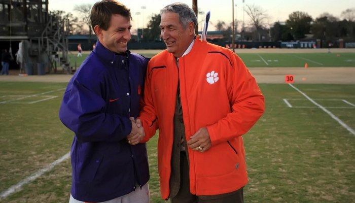 Swinney and former Alabama head coach Gene Stallings