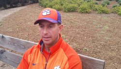 Day five in the books: Swinney likes team's balance