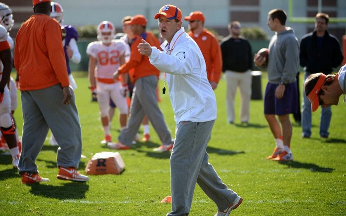 Swinney has the Tigers pointed in the right direction
