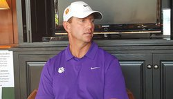 Evening Wrap: Swinney talks missing players, roster and expectations