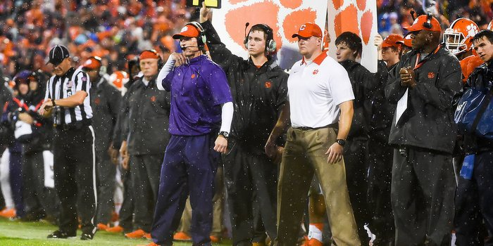 Venables said the Clemson defense will have to be more disciplined against Georgia Tech.