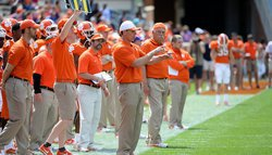 Venables happy with his defense this spring despite big numbers Saturday