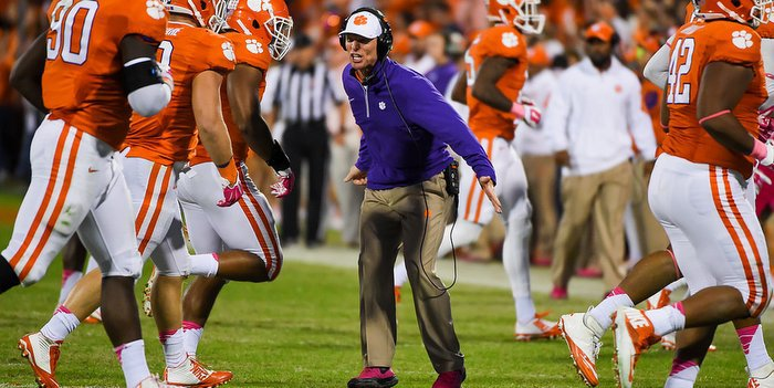 Venables wants his defense to complement what the rest of the team is doing
