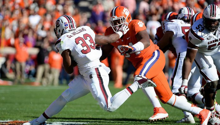 The Tigers say their focus is squarely on South Carolina