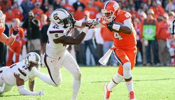 Swinney says Tigers won't hesitate to call Watson's number in running situations