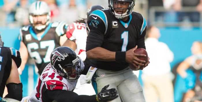 Vic Beasley's four sacks this season are the most ever for a Falcons rookie. <span style=