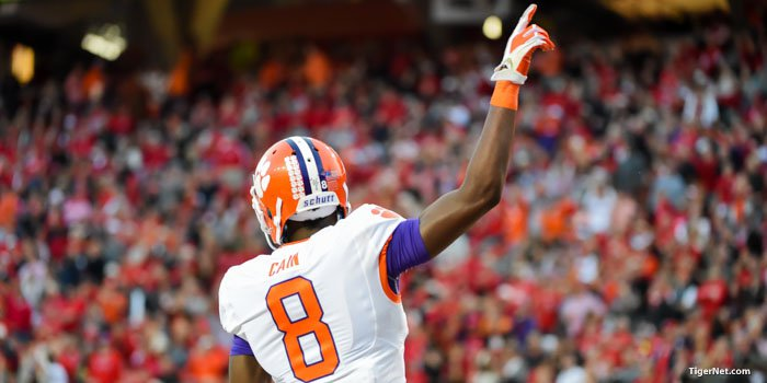 Clemson was ranked No. 1 in the first College Football Playoff rankings.