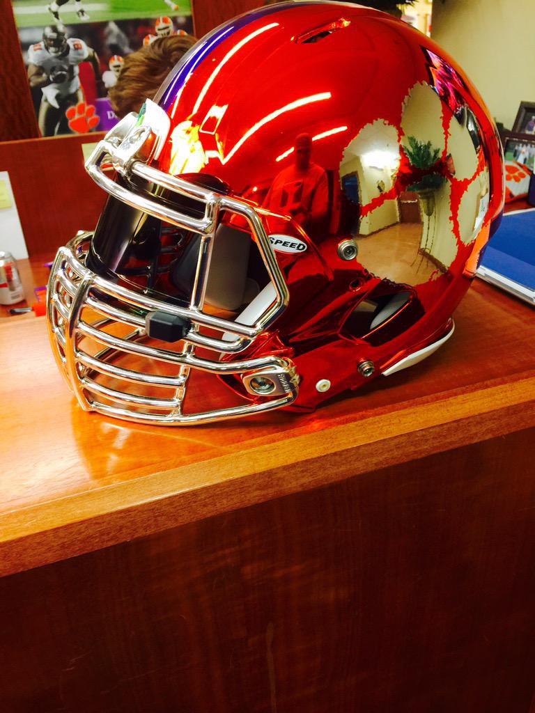 Chrome Helmets