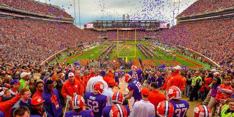 Clemson had a plan in place the last two seasons to phase out the balloon release.