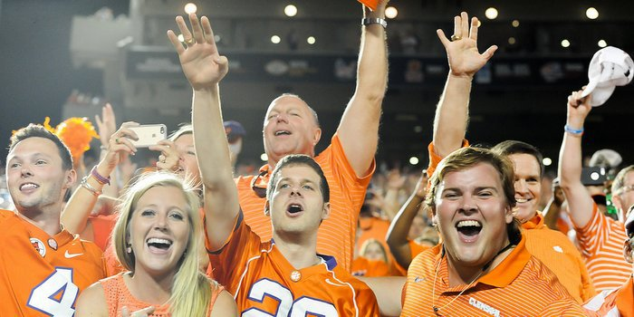 Clemson has changed the way students get tickets