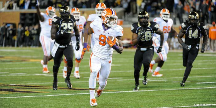Clemson looks to join the 700-win club Saturday as it takes on Wake Forest.
