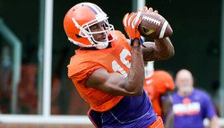 Clemson Holds Last Two-a-day Practice