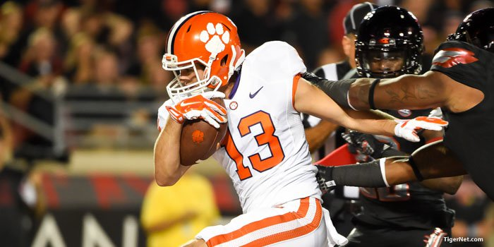 Hunter Renfrow is more than capable of making plays