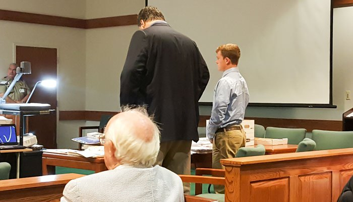 Rogers tells the judge he has elected to not testify.
