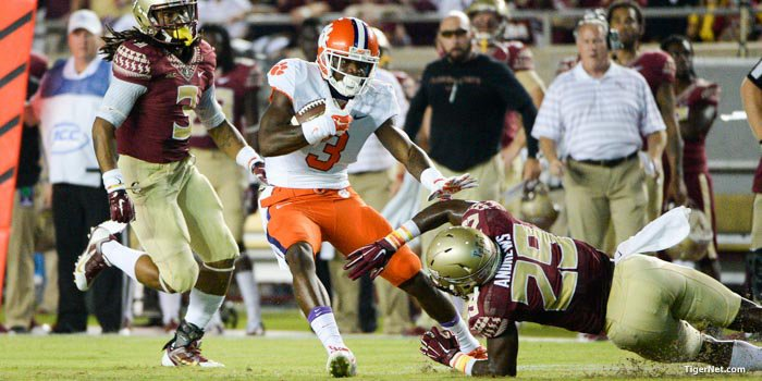 Each of the last six years the winner of Clemson vs. FSU game has gone on to win the division.