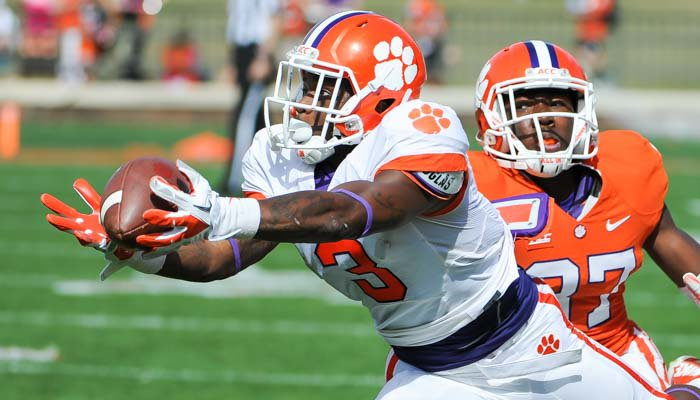 Jeff Scott wants the Tigers to have depth at receiver like Kentucky basketball.