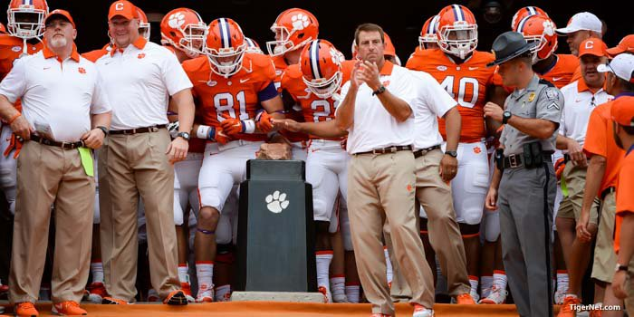 Swinney says Saturday about more than just football