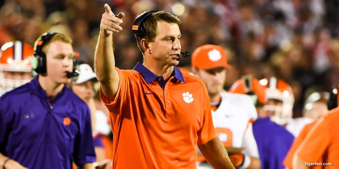 Swinney reiterated on Thursday that satellite camps are not something his coaches will be taking part in.