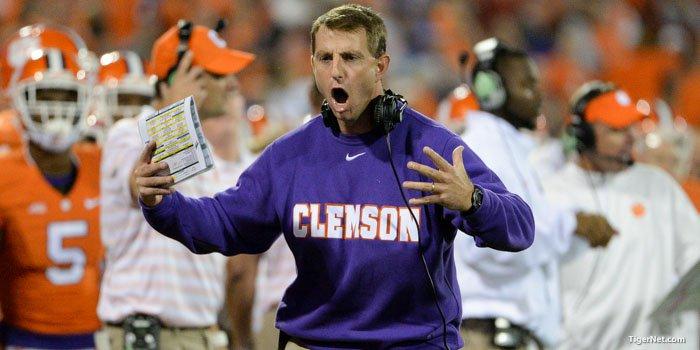 Clemson players react to Swinney rant, say Coach has their back