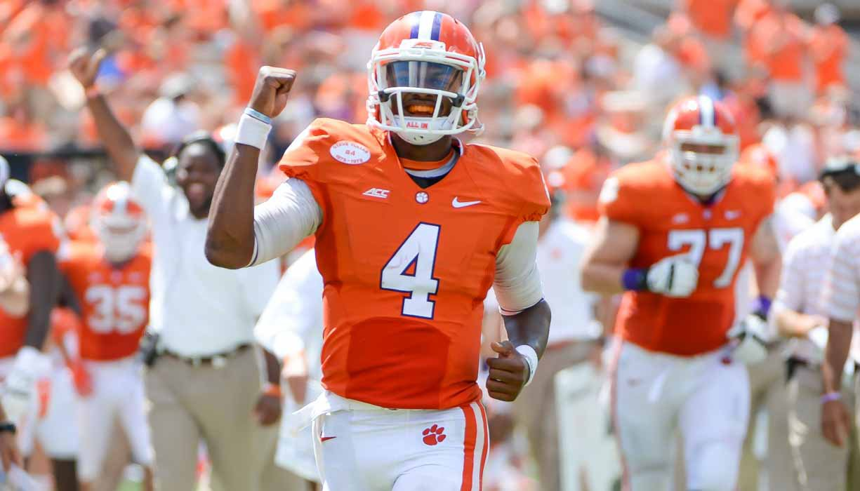 If he's healthy, Watson should be one of the best players in the nation this season