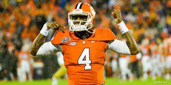 Breaking down the Clemson post-spring offensive depth chart