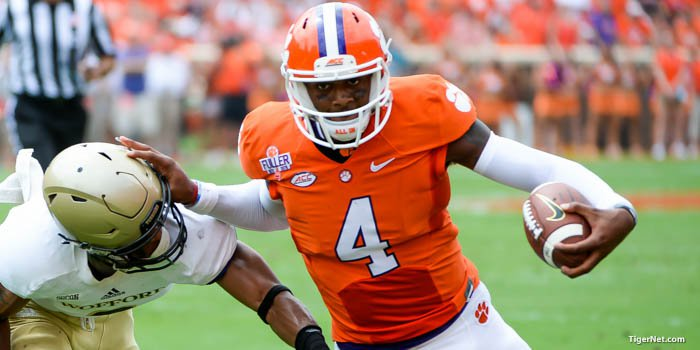 Clemson vs ND will be a primetime matchup at 8 p.m. on ABC on October 3rd.