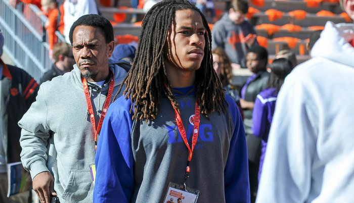 Four-star WR prospect T.J. Chase will be on hand this weekend