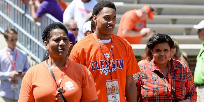 Foster visits Death Valley last season