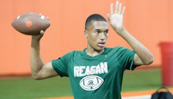 Four-star Texas QB says Clemson is