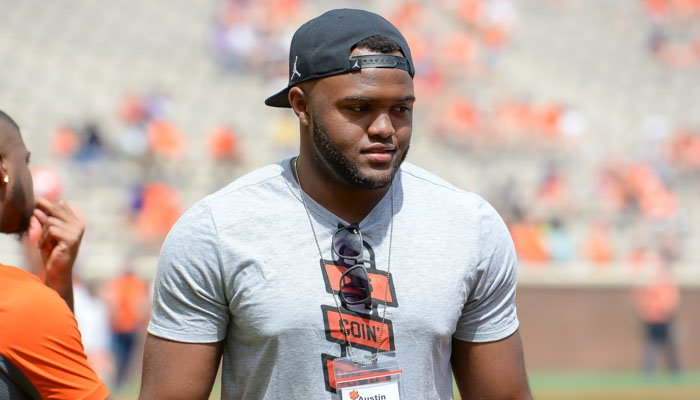 Bryant at Clemson's spring game