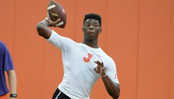 Sunday camp features new QBs and one of the state's top WR