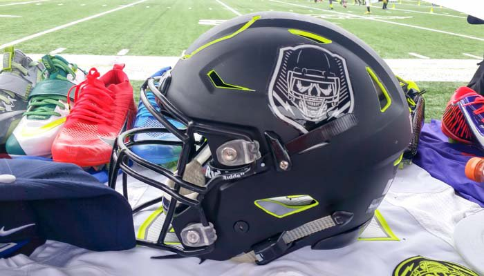 Helmet for Nike's The Opening Atlanta
