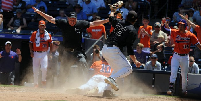 Wild pitch sends Tigers to ACC Championship Game